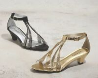 Womens Ashro Black Baltimore Shoes Heels Size 10m 10 M