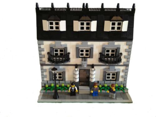 LEGO Custom Mansion Modular Building Instructions ONLY
