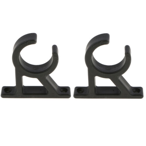 2x Boat Hook Clamp Holder Bracket Clip Marine Hook Clip Universal for Yatch