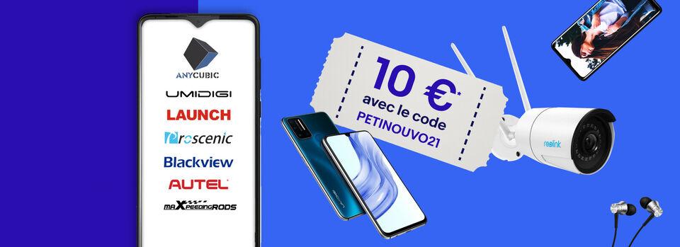 Livraison gratuite - 10 €* offerts sur les marques de demain