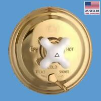 Shower Tub Faucet Mixer 1 Handle Valve Heavy Brass | Renovator's Supply