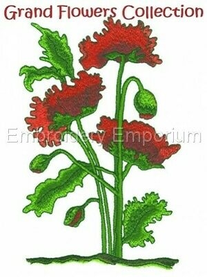 MACHINE EMBROIDERY DESIGNS ON CD OR USB FLORAL BOUQUETS COLLECTION