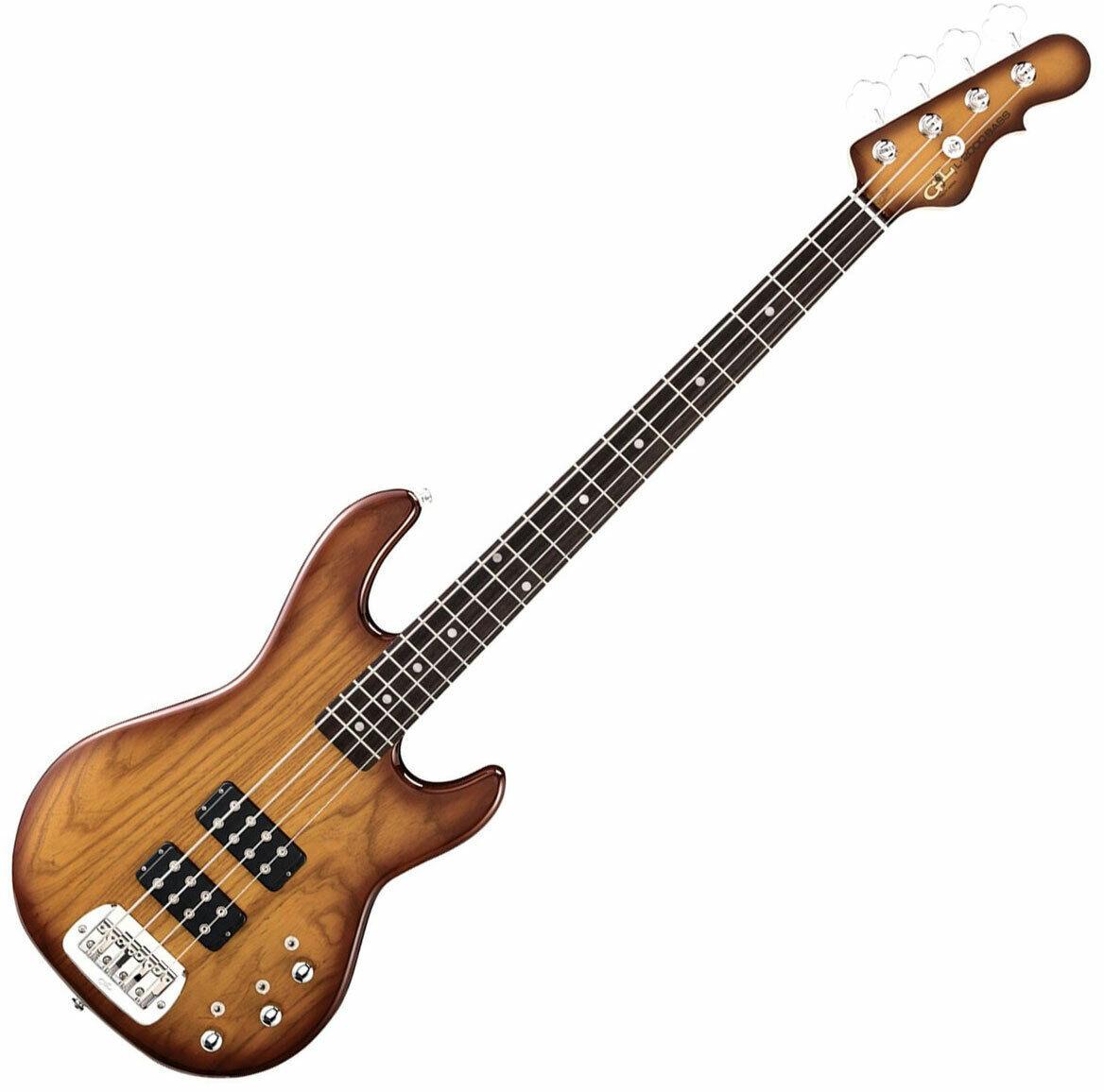 G&L Tribute L-2000 Bass Guitar in Tobacco Sunburst Finish
