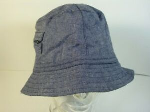 Cap-Fisherman-039-s-Hat-Beach-Big-57-Blue-Jeans-Real-Vintage