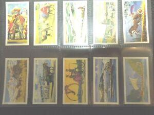 1966 Brooke Bond Tea TRANSPORT THROUGH THE AGES  history Trade set  50 cards