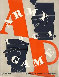 1954-Army-v-Penn-Football-Program-Davis-Blanchard