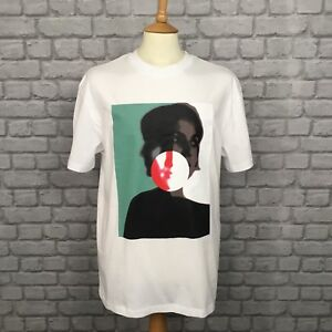 ALEXANDER-MCQUEEN-MCQ-MENS-UK-XL-GRAPHIC-FACE-T-SHIRT-TEE-TSHIRT-RRP-114-99