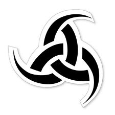 Triskelion- Triple Horn of Odin- cool, Norse Viking vinyl car, van decal sticker