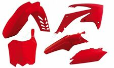 Kit Plastiche Honda CRF 250 2011=>2013 CRF 450 2011-2012 Rtech Rosso Red