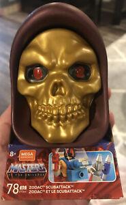 Mega Construx Masters of the Universe Zodac Scubattack MOTU Skeletor GYD64 78 Pc