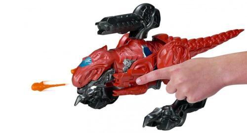 POWER Rangers Movie T-REX battaglia Zord del con Red Ranger