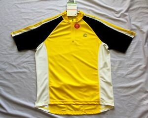Image is loading Large-2009-Cannondale-Ride-Jersey-Yellow 6750abb15