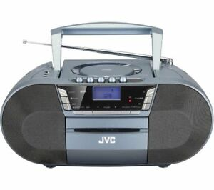 jvc rc d327b cd cassette player with dab fm digital. Black Bedroom Furniture Sets. Home Design Ideas