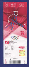 Orig.Ticket  Olympic Games LONDON 2012  -  HOCKEY    GREAT BRITAIN - ARGENTINA !