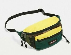 EASTPAK-Doggy-Urban-Exclusive-Bag-Camo-Bum-Cross-Body-Waist-Bag-Yellow-Carhartt