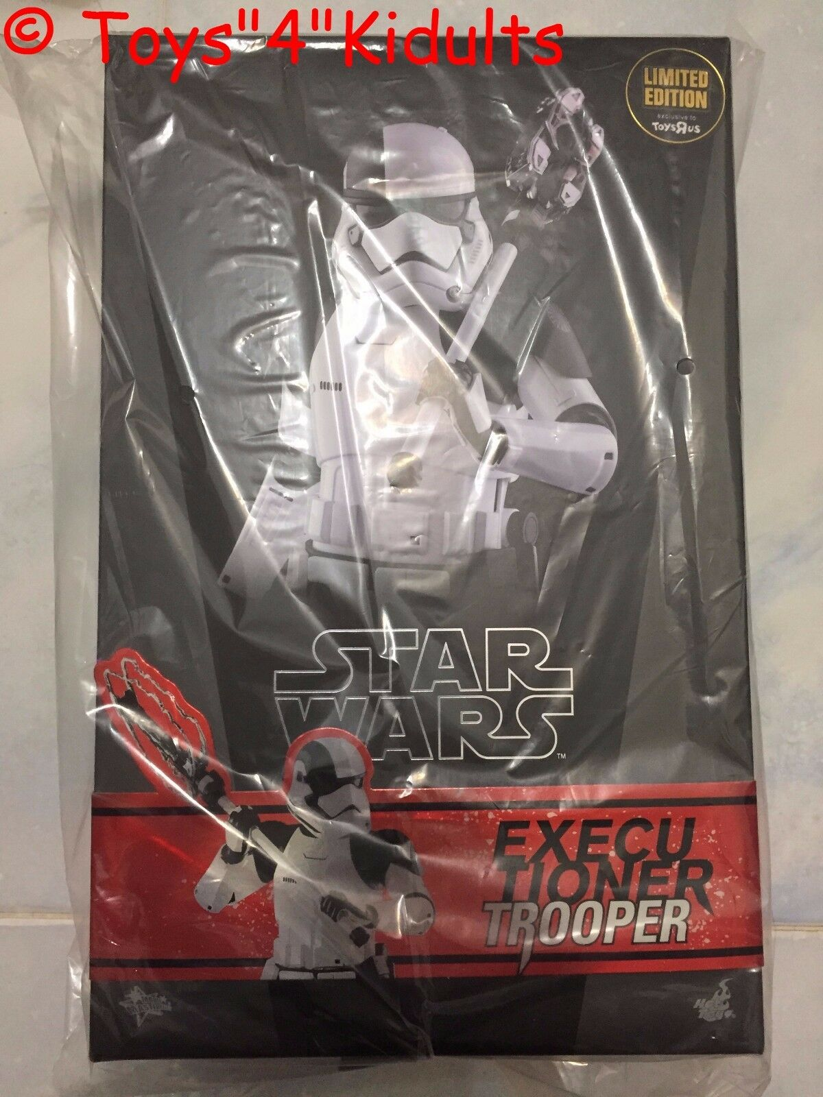 Hot Toys MMS 428 Star Wars último Jedi Verdugo Trooper Stormtrooper (Toysrus)