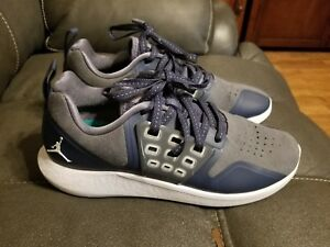 5ef43485d95c Jordan Lunar Grind Men s Training Shoes- dark bluel  Grey- Size 8.5 ...