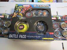 MARVEL Upper Deck Slingers Action Game- Battle Pack & 2 X Power Pack NEW