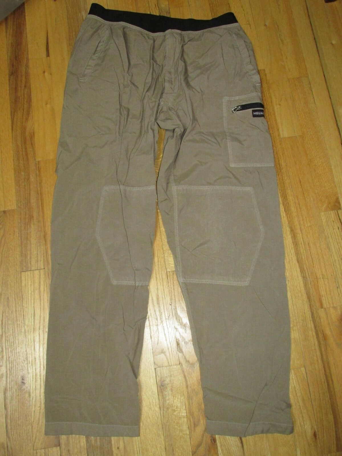 Megalith Mountain Sport VTG  Nutmeg Lightweight Travel Casual Pant Men's XL NY18