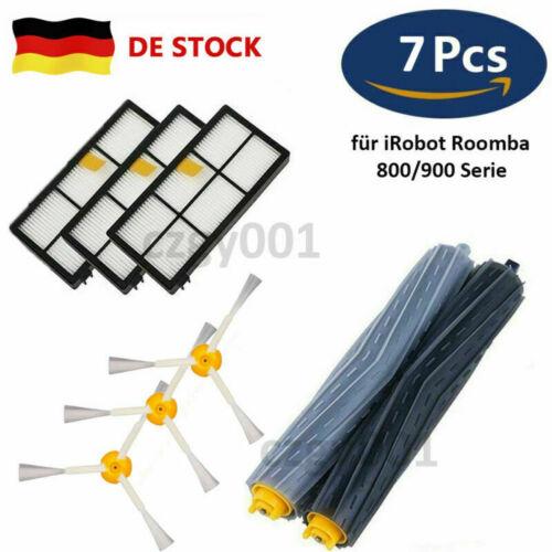 7x Hgih Quality Ersatz Kits für iRobot Roomba 800//900 Serie Staubsauger Roboter