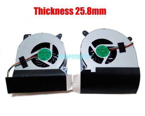 Asus G750 G750J G750JH G750JM G750JS G750JW G750JX G750V CPU /& GPU Cooling Fan
