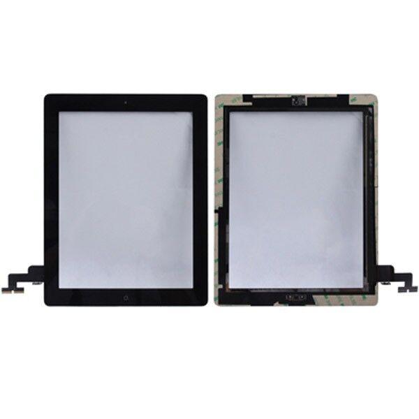 Remplacement Écran D'Affichage Bouton Home pour Apple Ipad 2 Tactile Noir +