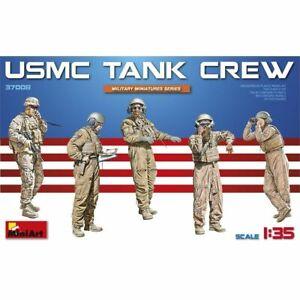 1-3-Echelle-5-Miniart-Usmc-Equipage-de-Tank-Equipage-Min37008-Figurines-Nouveau
