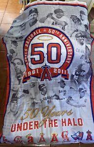 LA Anaheim Angels 50th Anniversary Banner 2011 SGA NEW