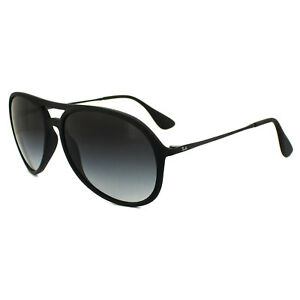 e6e71e3c1ce Ray-Ban Sunglasses Alex 4201 622 8G Rubber Black Grey Gradient ...