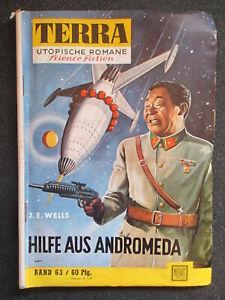 Rar aus Sammlung TERRA utopische Romane Science Fiction J.E. Wells BAND 63  EA