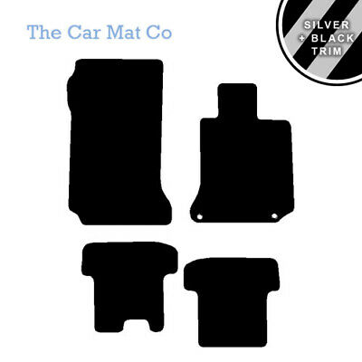 Custom Carpet Car Mats to fit Mercedes E-Class Coupe Manual 4 Clips 2009-2017