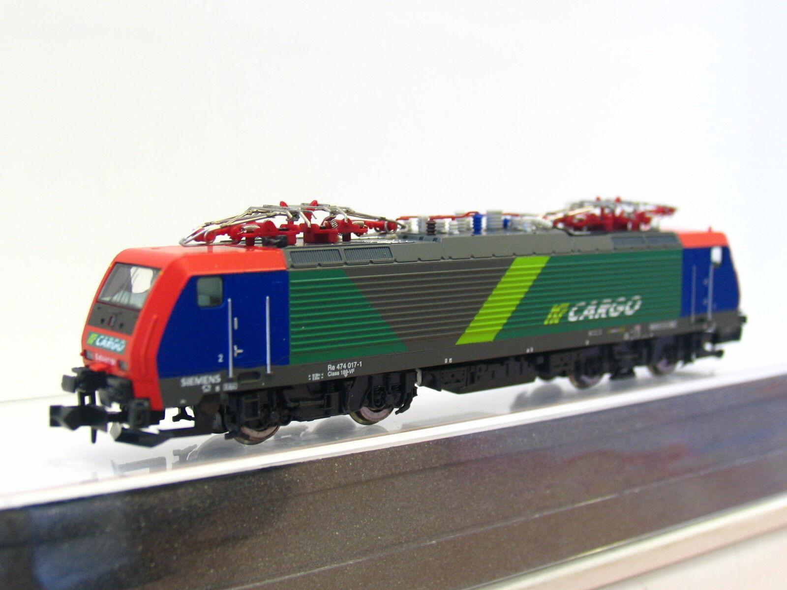 Hobbytrain N H2906 E-Lok Re 474 NF Cargo OVP (Z1393)