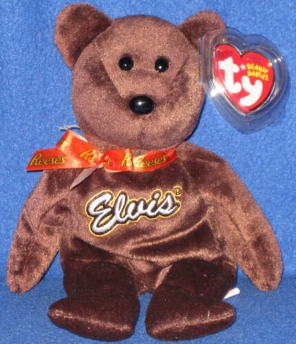 BROWN TY COCO PRESLEY the MINT with MINT TAG BEANIE BABY