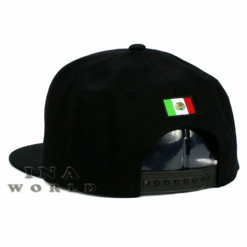 MEXICO hat State License Plate Snapback Flat bill Black Baseball cap JALISCO
