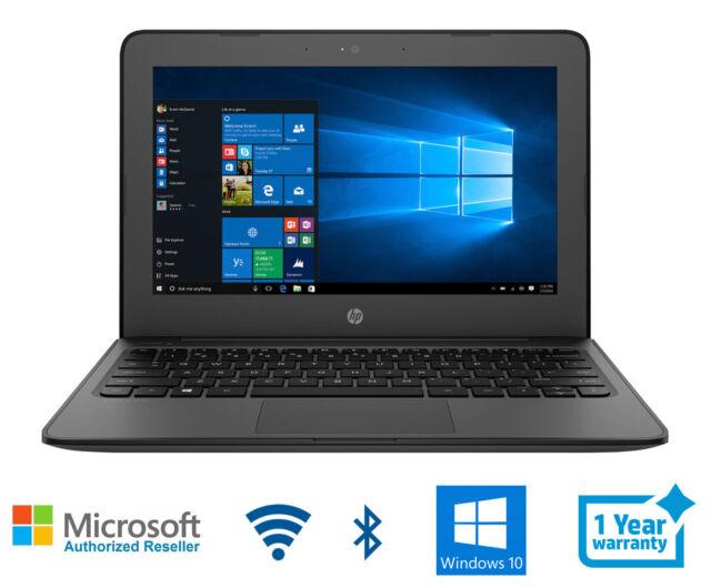 HP Stream 11 Pro Laptop Intel 2.4 4 Memory 64 HD Bluetooth HDMI Windows 10 Pro