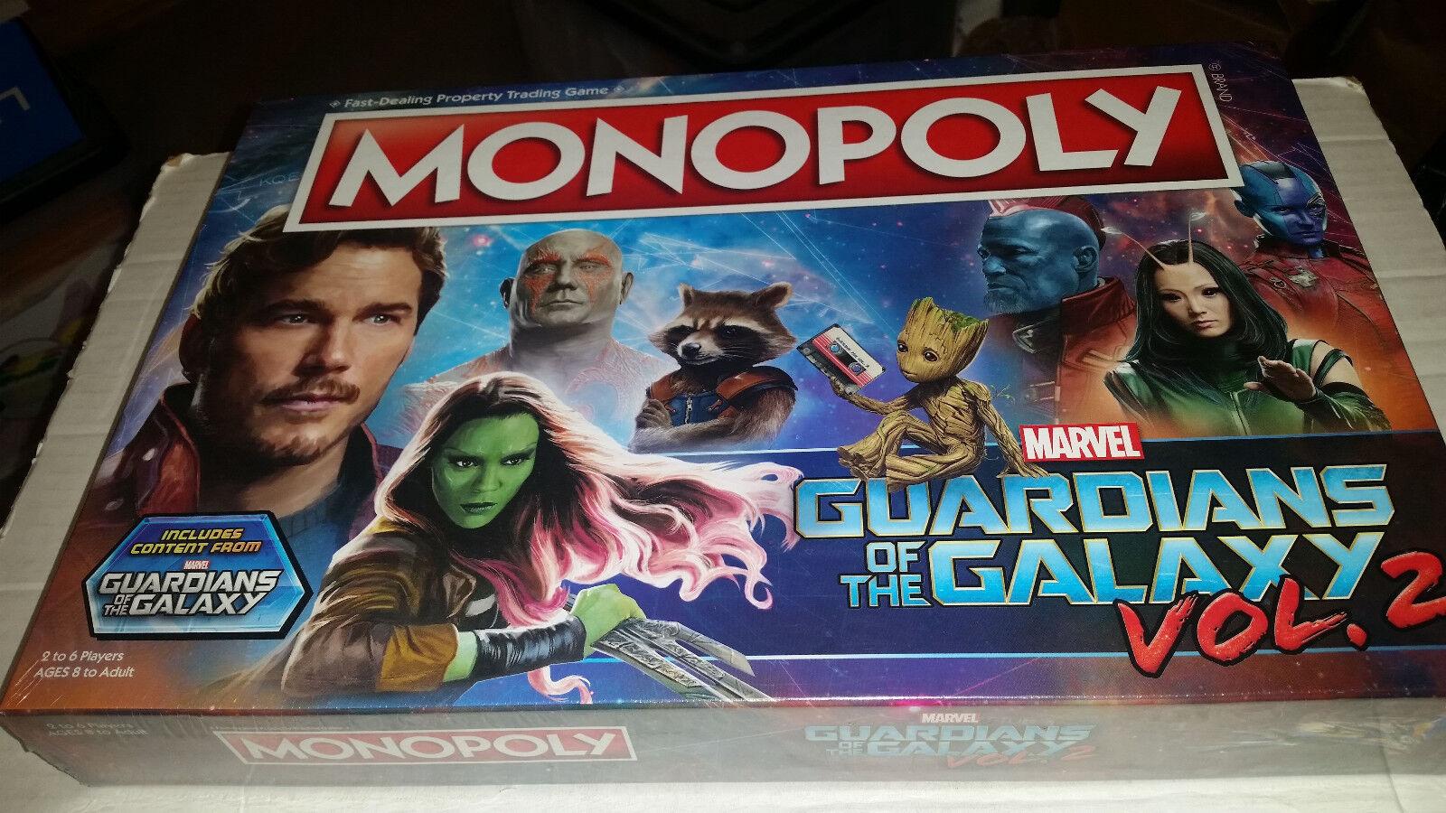 Guardianes de la Galaxia vol. 2 monopolio Nuevo Sellado