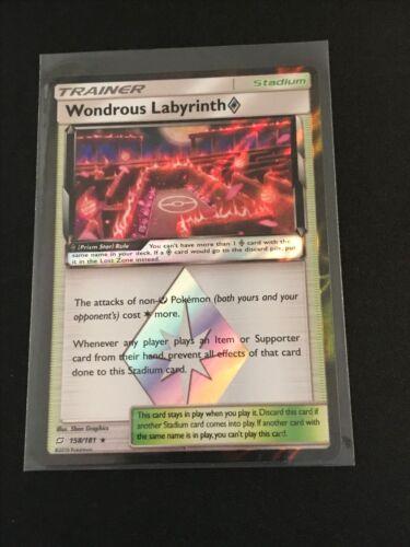 Wondrous Labyrinth  158//181 Pokemon Sun and Moon:Team Up