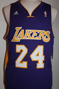 ed27c1764e4 Image is loading Kobe-Bryant-24-Los-Angeles-Lakers-Purple-Swingman-