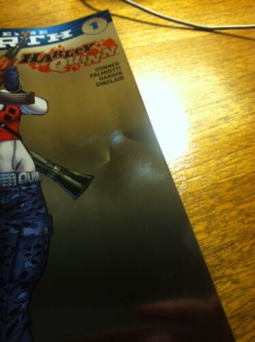 DC UNIVERSE REBIRTH HARLEY QUINN #1 Baltimore Comic Foil Variant Sold Out!!