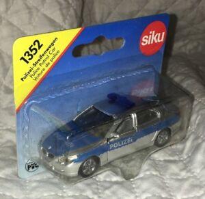 SIKU 1352 BMW E60 E 60 SERIE 5 545i POLIZIA POLIZEI 1/55