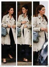 Zara Ruffle Woman's Trench Coat Jacket, Size XS, ASO Kate