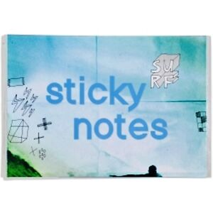 STICKY-NOTE-SET-TROPICAL-SURF-DESIGN-URBAN-BY-MODENA-180-X-128MM