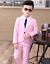 2pcs Kids Baby Boys Formal Suit For Wedding Concert Party Coat+Pants Clothes Set