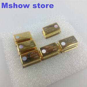 1x-TCXO-0-1ppm-oscillator-Ultra-precision-golden-plate-50MHZ-12-288Mhz-14-318MHZ