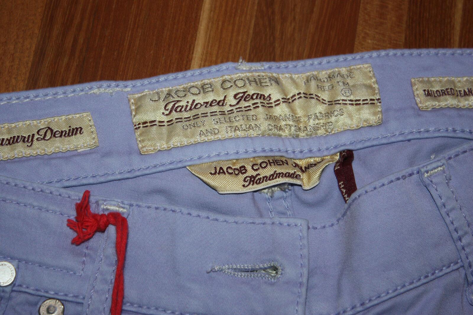 7 8 jeans Jacob Cohen Jeans Pantaloni     Jacob Cohen NUOVO   UVP   Viola 72ae65