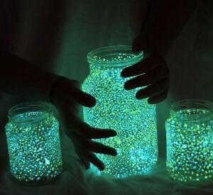 YG500L-25g-GRUN-Effekt-Pigment-f-Epoxi-Harz-Lack-Farbe-Nachleucht-neon-UV-Licht