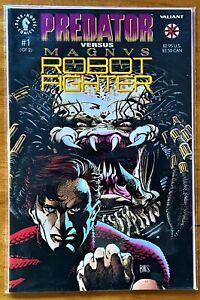 PREDATOR VS. MAGNUIS ROBOT FIGHTER #1      22+ YEARS ON EBAY