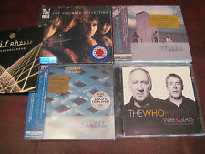THE WHO'S JAPAN DELUXE WHO'S NEXT & TOMMY SACD HYBRID + ULTIMATE HITS & SINGLES