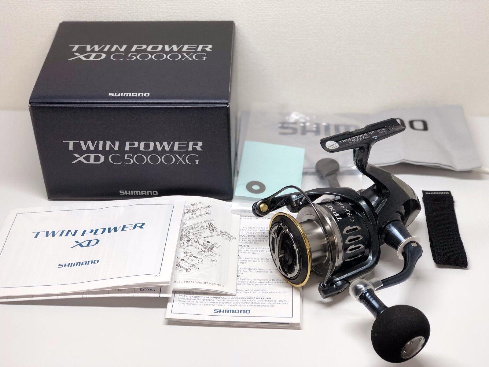 SHIMANO 17 TWINPOWER TWINPOWER TWINPOWER XD C5000XG   - Free Shipping from Japan 48dc51