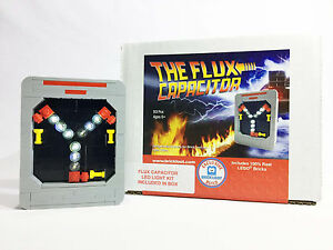 Exclusive-Brick-Loot-Flux-Capacitor-with-LED-Light-Kit-100-LEGO-Bricks-Set